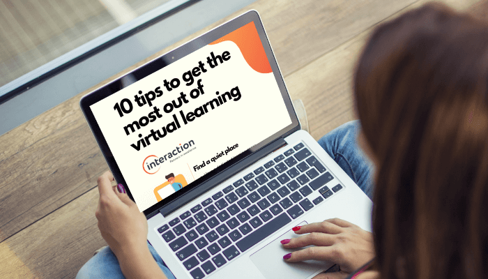 10 tips to get the most out of virtual learning info-graphic