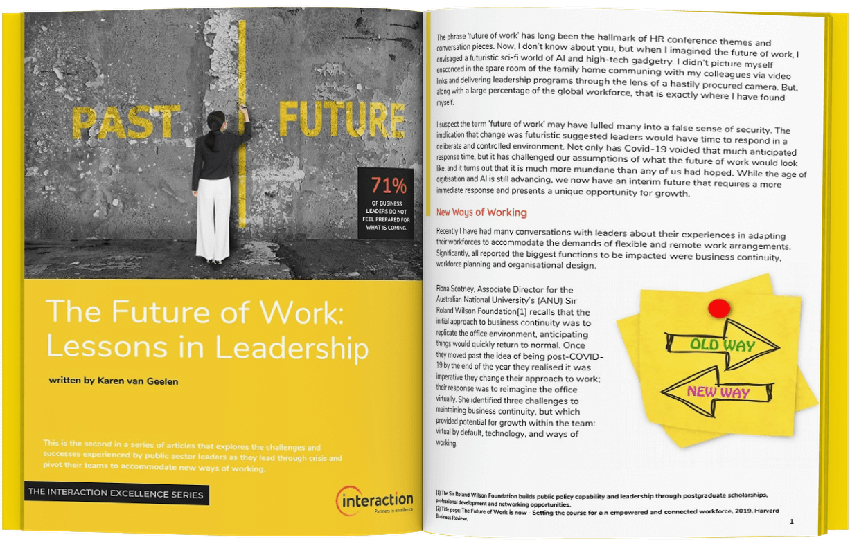 The Future of Work Article