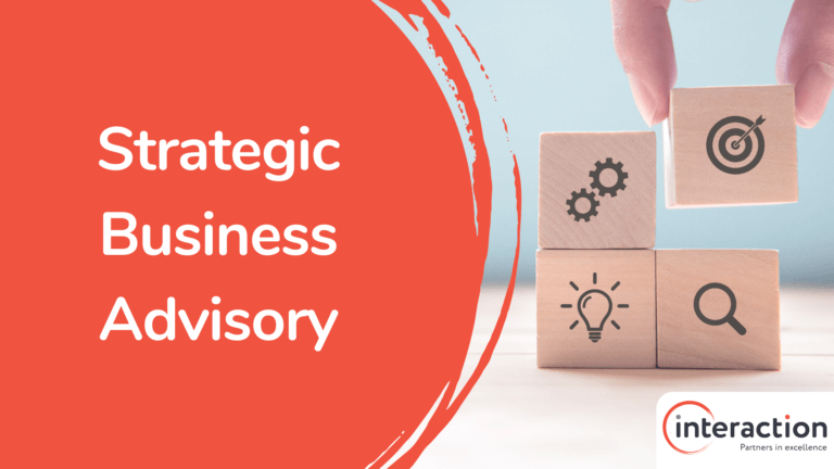Interaction Consulting - Business Advisory Slide
