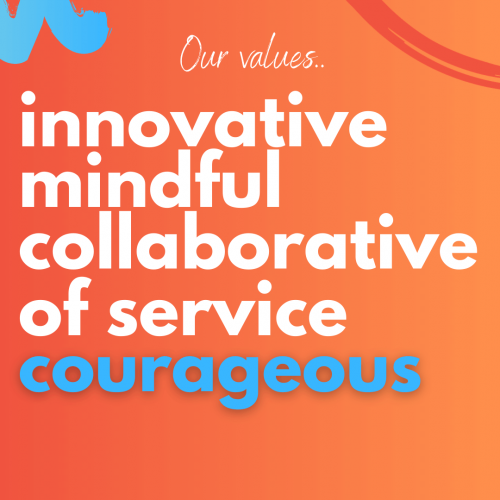 website Our values - Courageous highlight